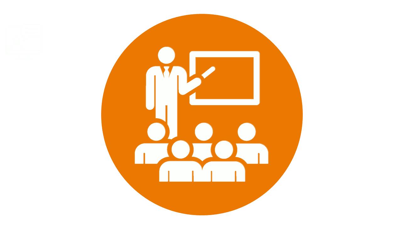 Bild von einem Klassenraumtraining